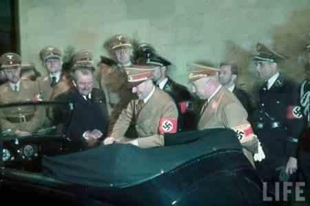 Как имя Гитлера связано с популярной маркой автомобиля?