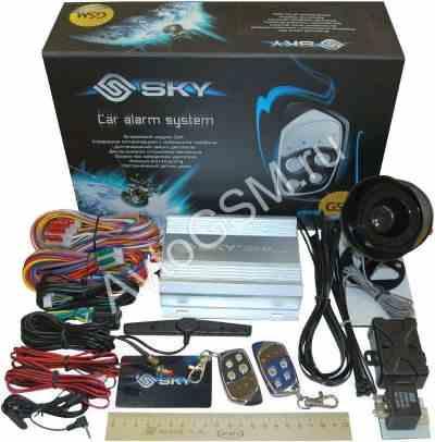 Сигнализация GSM SKY - на связи с автомобилем в любом месте