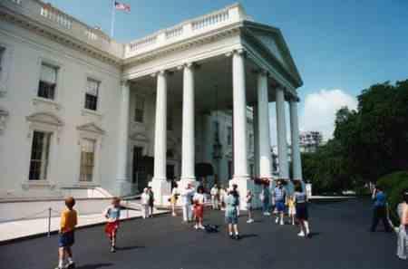 Белый дом закроют для простых смертных