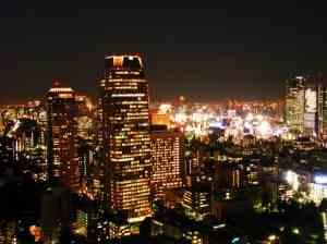 Районы столицы Японии - Токио.